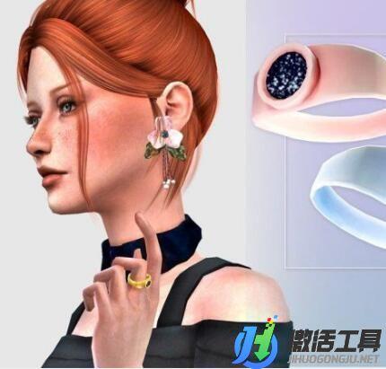 《模拟人生4》黑色石头戒指MOD